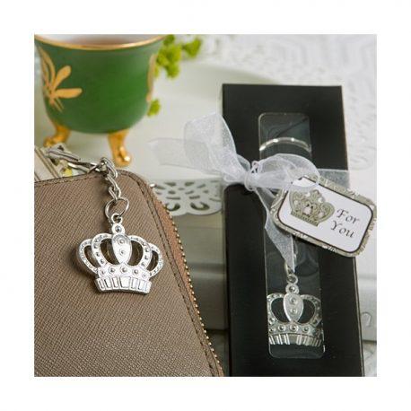 Breloc coroana regala marturie