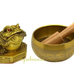 Bol tibetan si broasca norocoasa de bronz, remedii pentru bunastare