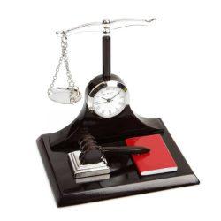 Ceas de birou talere Justitiei