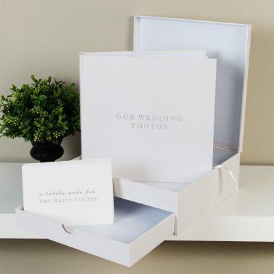 Album de nunta in cutie cu sertar