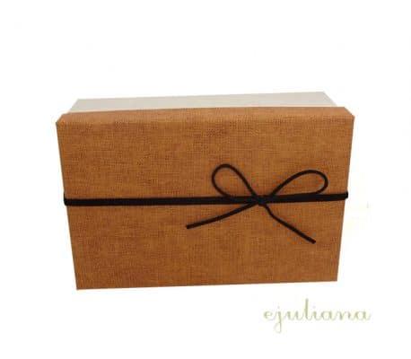 Cutie de cadou cu capac maro