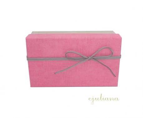 Cutie cadou pentru fetita capac roz