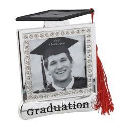 Rama foto de absolvire patrata cu ciucuras