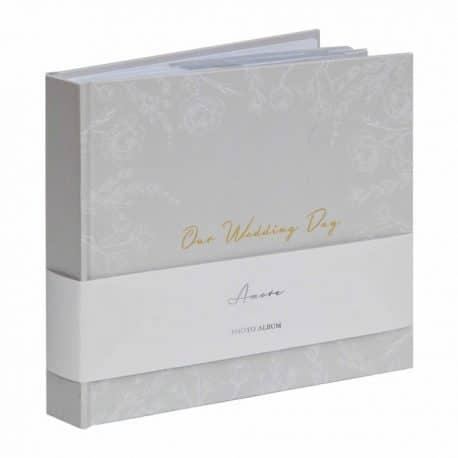 Album foto de nunta Grey Floral