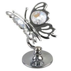 Ornament fluturas cu cristal Swarovski