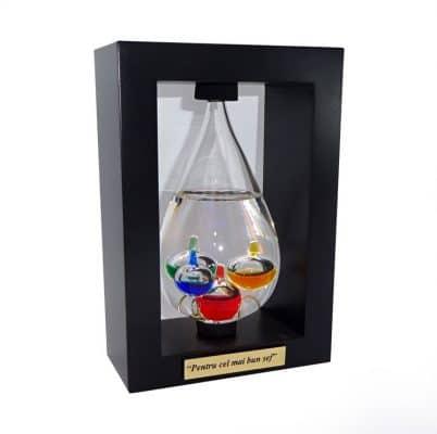 Termometru Galileo Galilei cadou pentru sef, cadouri personalizate