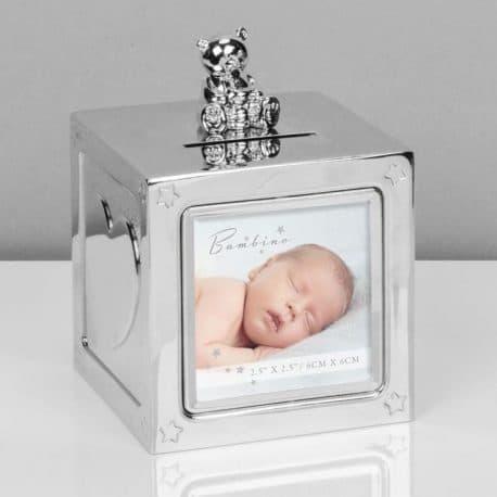 Pusculita argintata cu rama foto Juliana