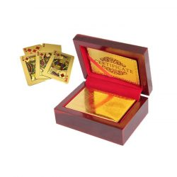 Carti de joc placate cu aur