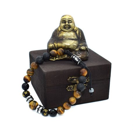 Bratara barbati mix Buddha gras