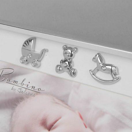 Rama argintata bebelusi iconite