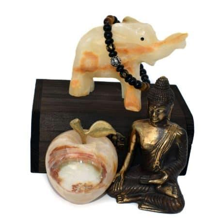 Bratara Buddha mar elefant onix