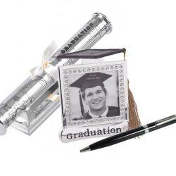 Rama foto, pix si suport pentru certificatul pentru absolvire