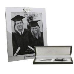 Pix si rama de absolvire argintata