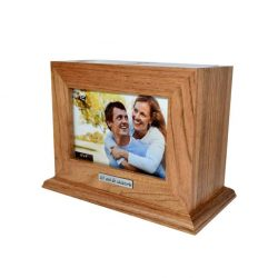 Album cutie de lemn pentru aniversare 10 ani de casatorie