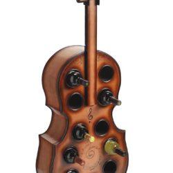 Suport pentru sticle de vin violoncel